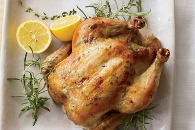 homemade roasted chicken recipe