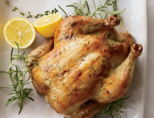Roasted Chicken with Lemon and Herbs