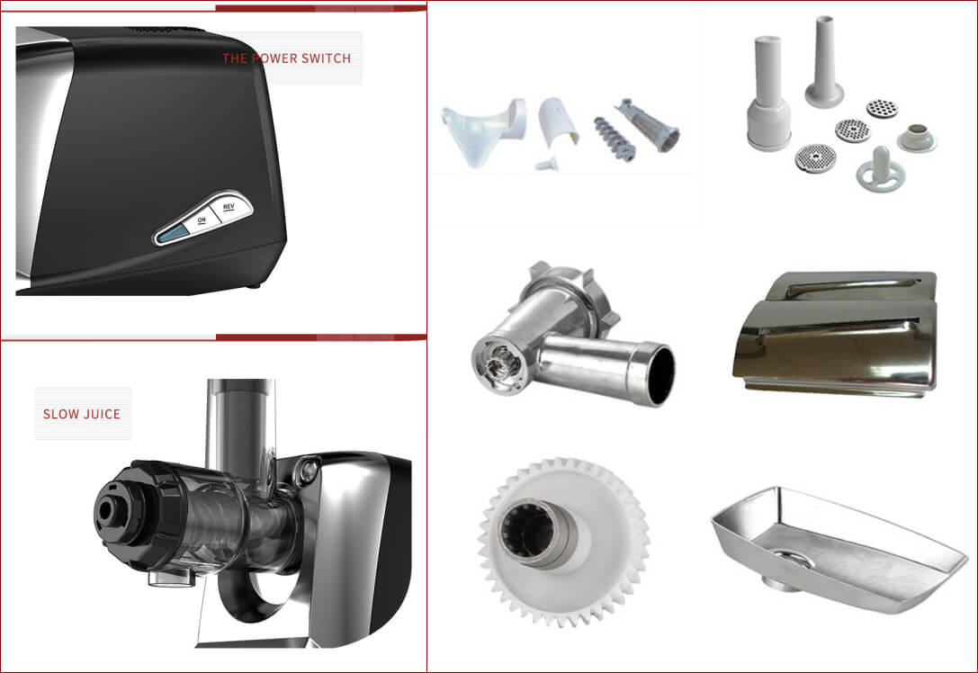household meat mincer machine details show