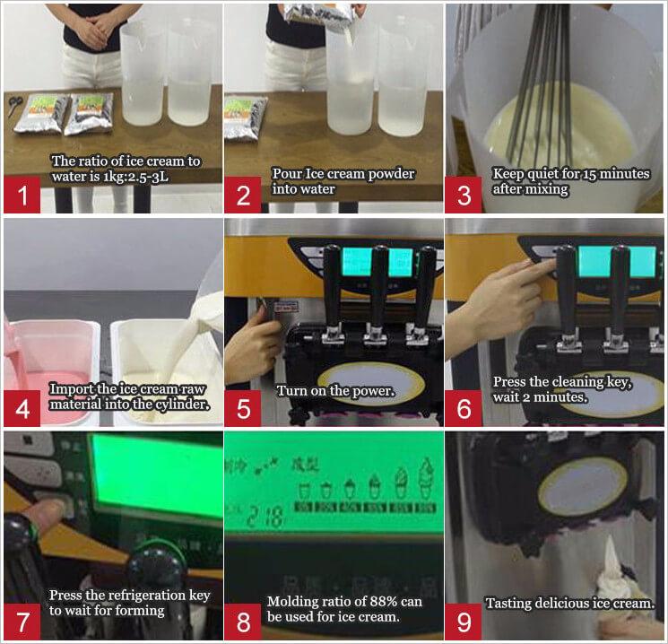 how to make soft ice cream