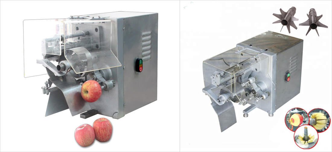 industrial apple peeling coring machine