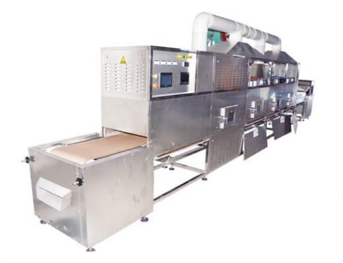Microwave Pigskin Puffing Machine