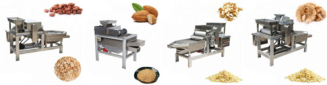 nut chopper crushing machine