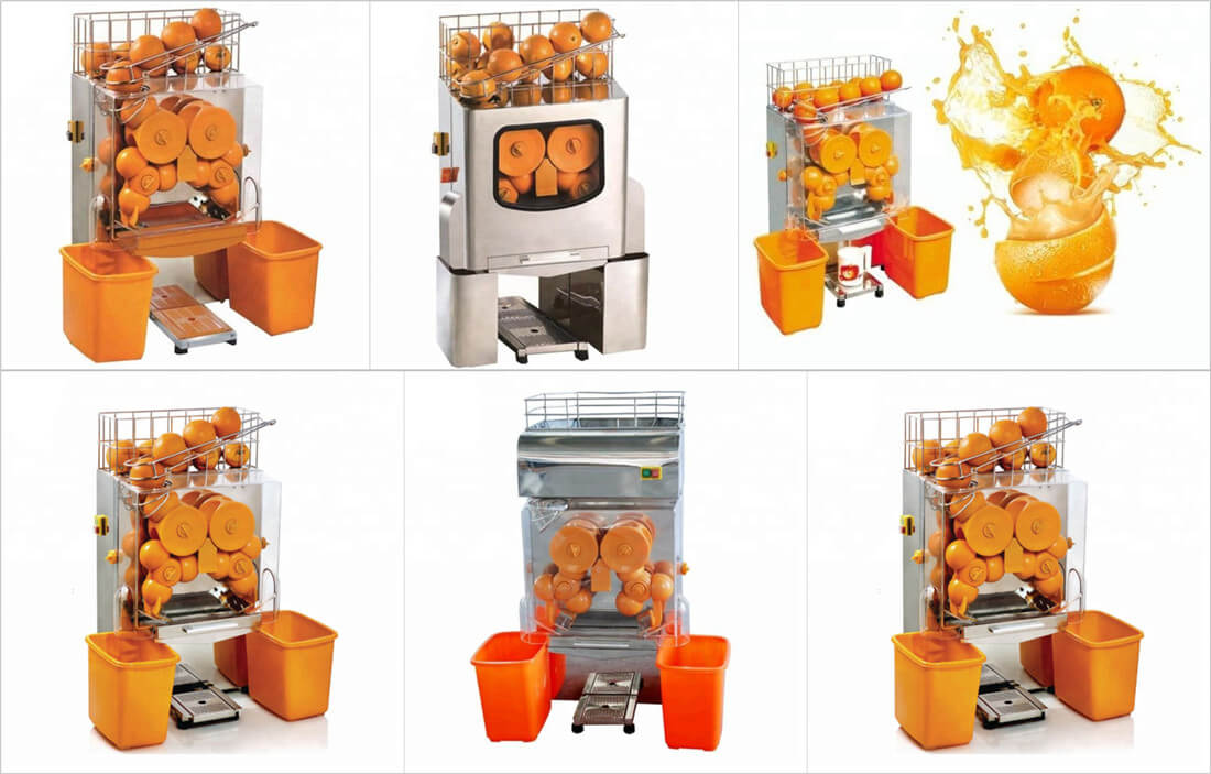 orange juicing machines