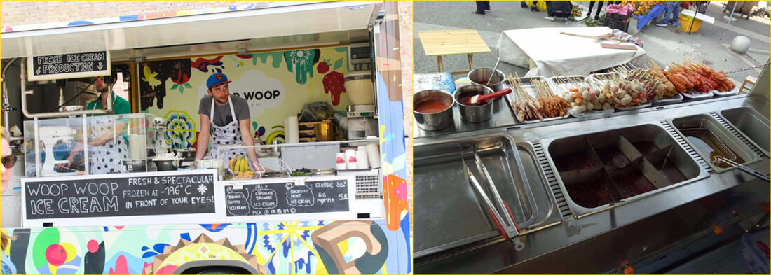 run food vending business with food truck