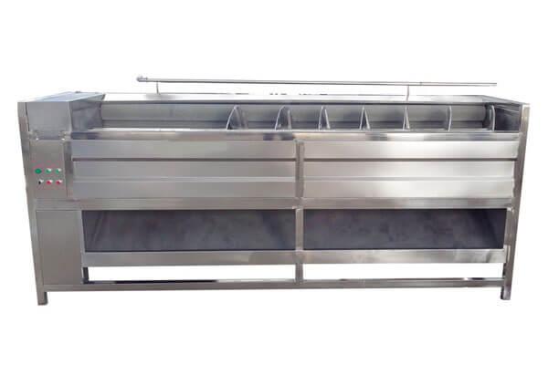 sprial vegetable peeling machine