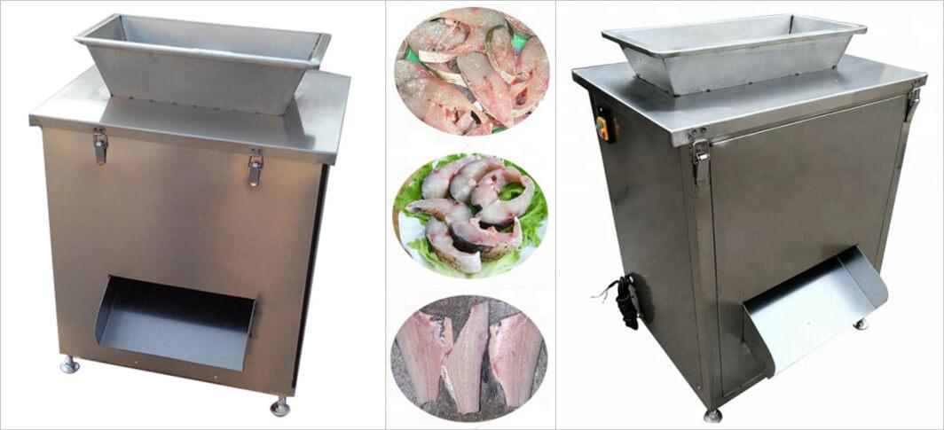 stainless steel fish cutting machine