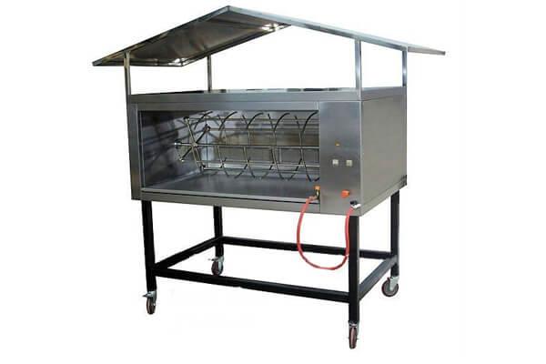 whole pig roasting machine