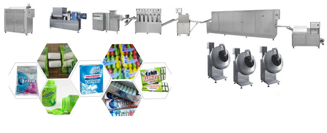xylitol chewing gum pellets forming machine unit