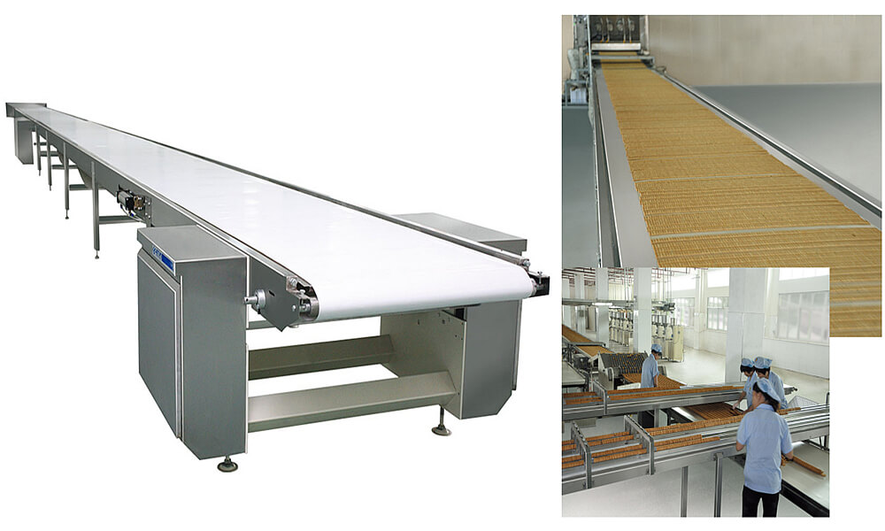Cooling Conveyor Belt and finishing machine