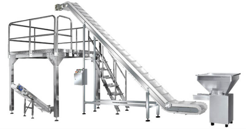 stainless steel bucket elevator conveyor