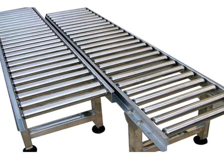 straight running roller conveyor