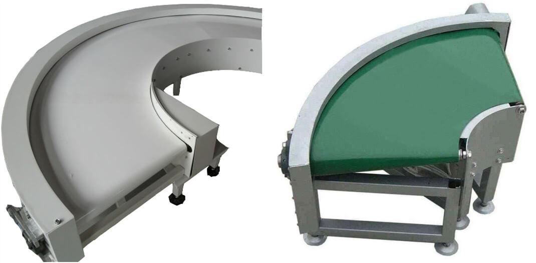 turning belt conveyor