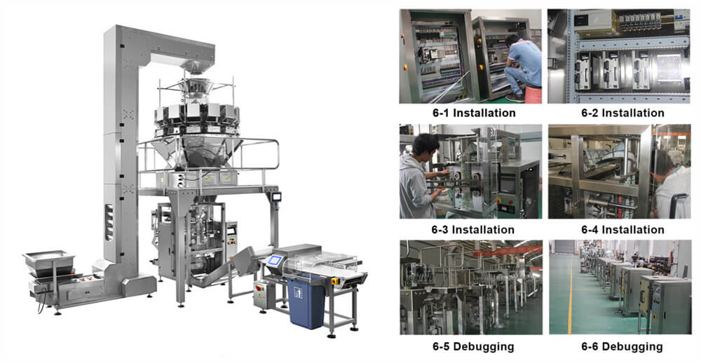 bean sprout packaging machine